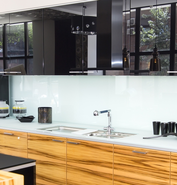 Küchenrückwand nach Maß - Spritzschutz, Küchenrückwand, Acrylglas, Fliesenspiegel