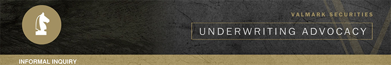 Underwriting Advocacy Banner