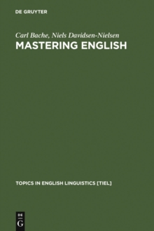 Essentials of Mastering English   A Concise Grammar  Carl Bache     Mastering English