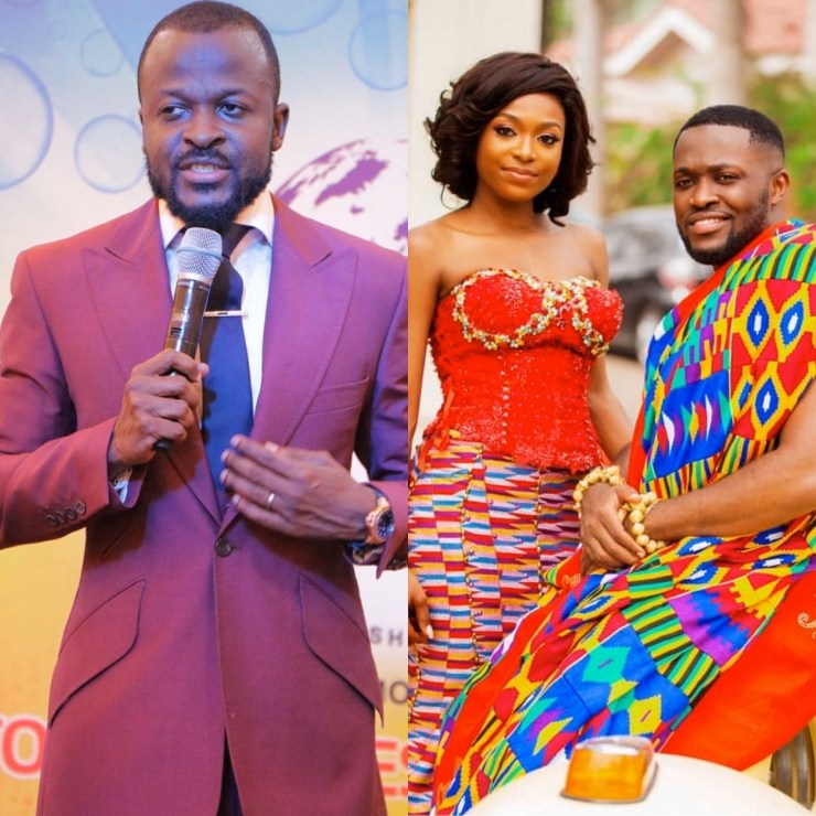 Prophet Daniel Amoateng's Junior Pastor Puts The Record Straight Over Tracy & Kennedy Osei's Marriage Prophecy