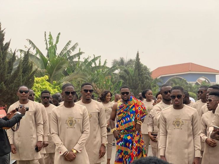 Dr Kwame Despite's Son Kennedy Osei Weds Tracy