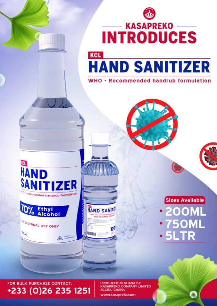 Kaspreko Company Limited Places Beverage Production On Hold To Produce Affordable Hand Sanitizers Curb The Spread Of Coronavirus