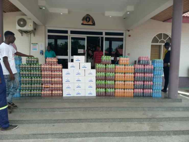 Kasapreko Continues Combat Against COVID-19 With Donation Worth GHC 40,000.00 To Manhyia Palace
