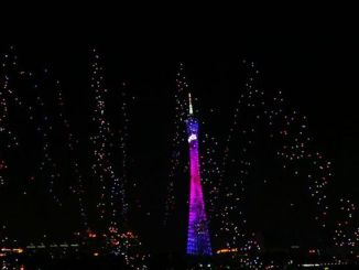 У Китаї було проведено грандіозне шоу, в якому була задіяна тисяча безпілотників