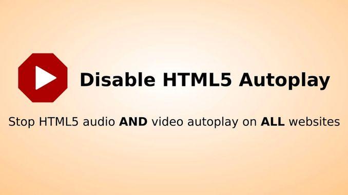 Як відключити Автовідтворення відео і звуку на будь-яких сайтах