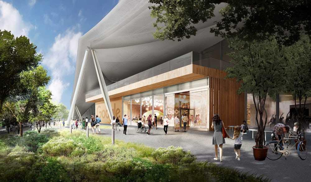 Google почне будівництво інноваційної штаб-квартири в цьому році