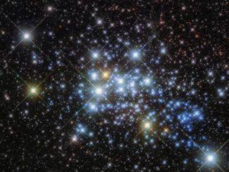 Новий знімок телескопа Hubble: Скупчення Westerlund 1