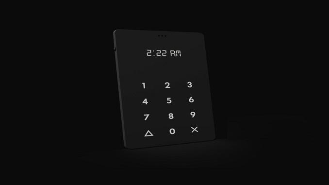 Light Phone - мінімалістичний телефон