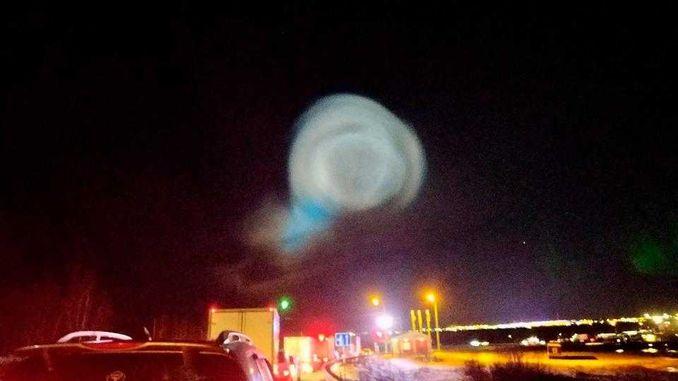 Дивні явища в небі зв'язали з запуском Росією балістичних ракет
