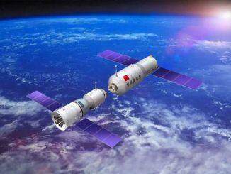 Представлено відео падаючої орбітальної станції «Тяньгун-1»