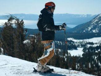 Roam Ski - екзоскелет для лижників новачків