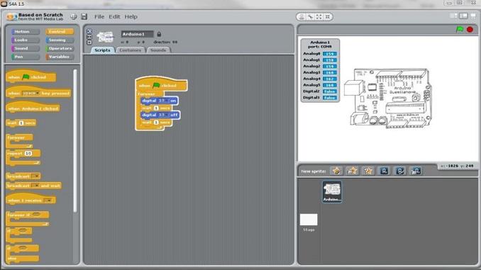 Arduino: ТОП-3 графічних софтів для програмування Scratch