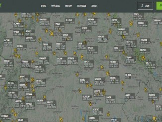 Tracking the airplane's traffic can now be online
