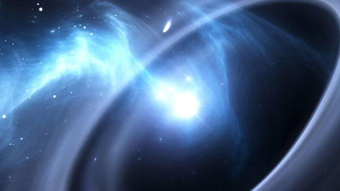 Вперше зареєстровано падіння матерії в чорну діру на релятивістських швидкостях