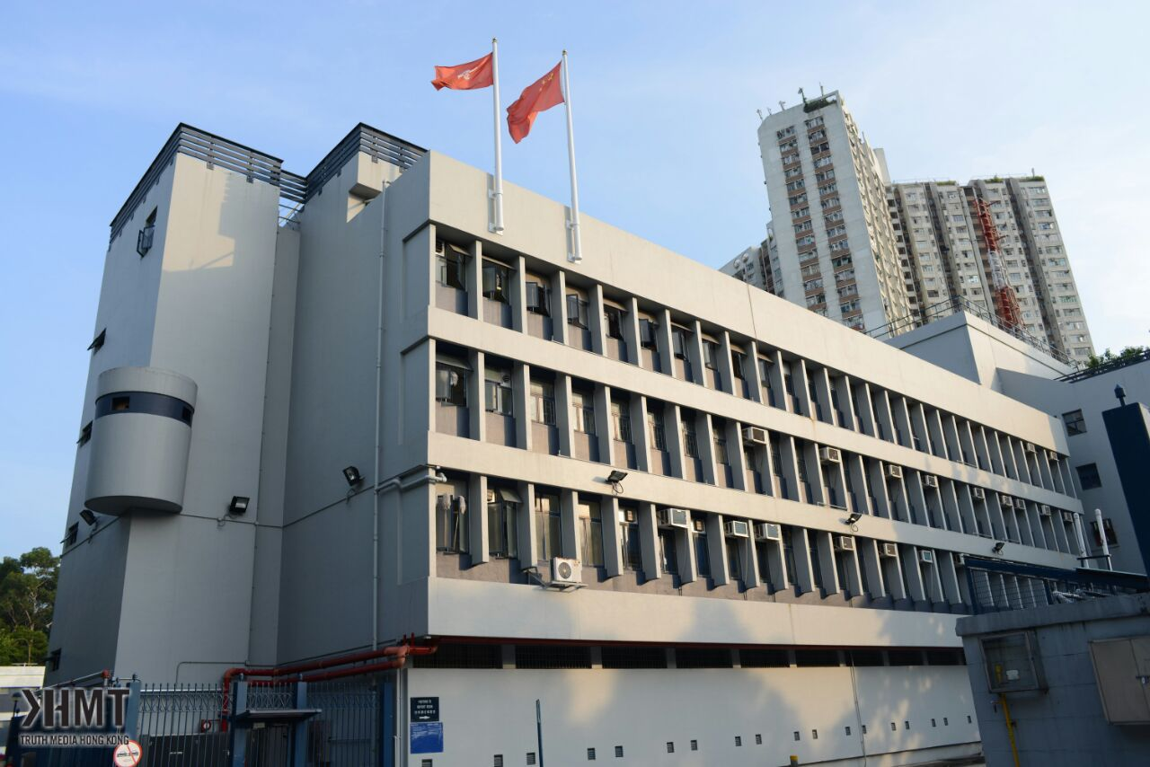 Ray被鎖上手扣帶走 本民前往上水警署聲援   TMHK - Truth Media (Hong Kong)