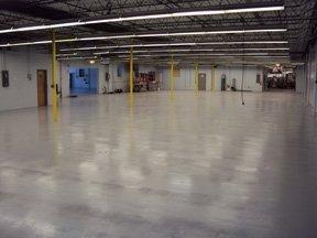 TMI Coatings Solves Floor Erosion Problem