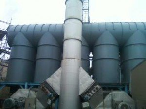 Sandblasting And Painting Thermal Oxidizer By TMI Coatings