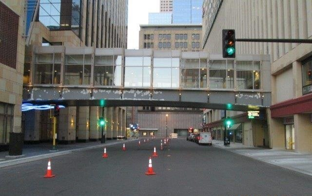 Minneapolis Skyway Painting by TMI Coatings, restoring America's infrastructure!