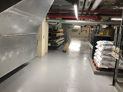 Mechanical Room Flooring by TMI