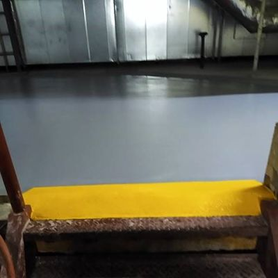 TMI Coatings after floor coating