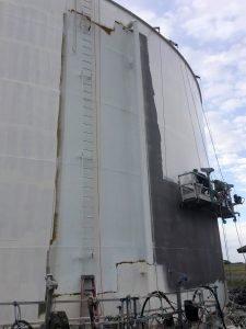 TMI Coatings exterior tank restoration