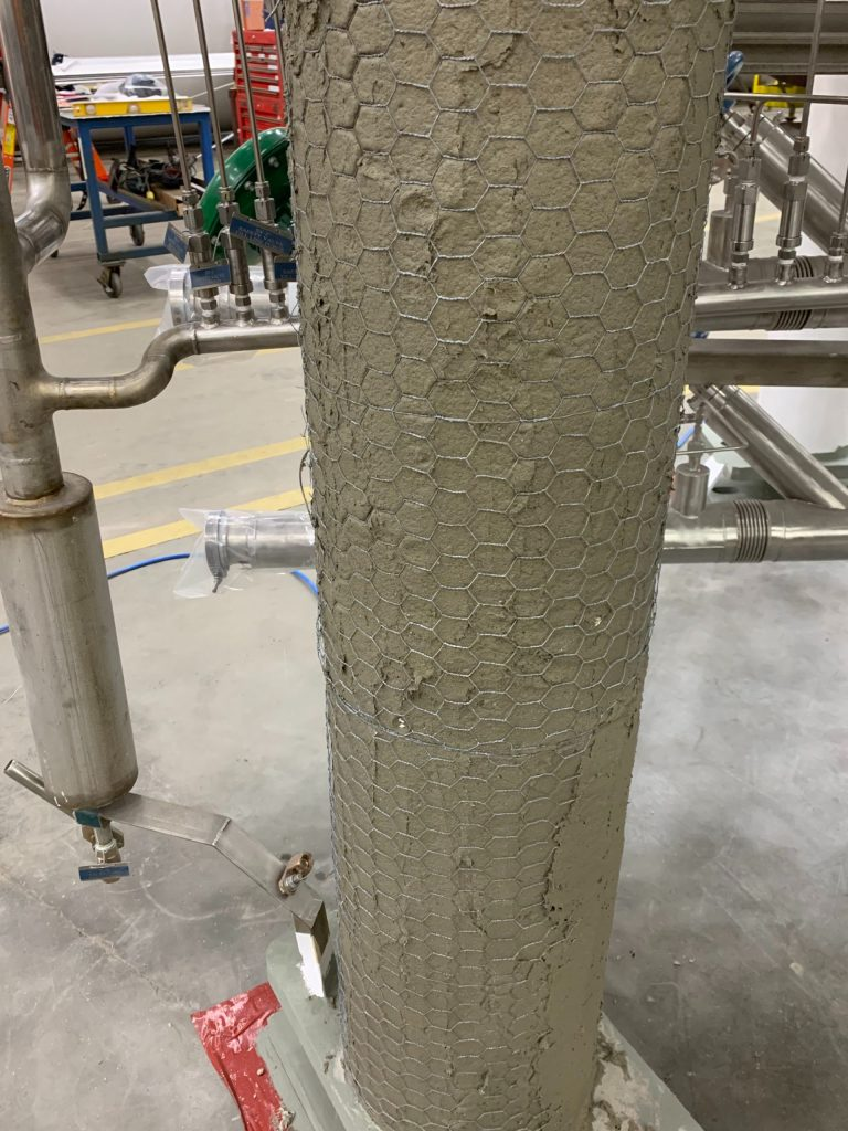 Photo of High Density Fireproofing