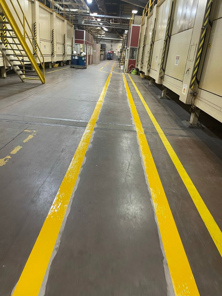 Photo of TMI Coatings Line Striping