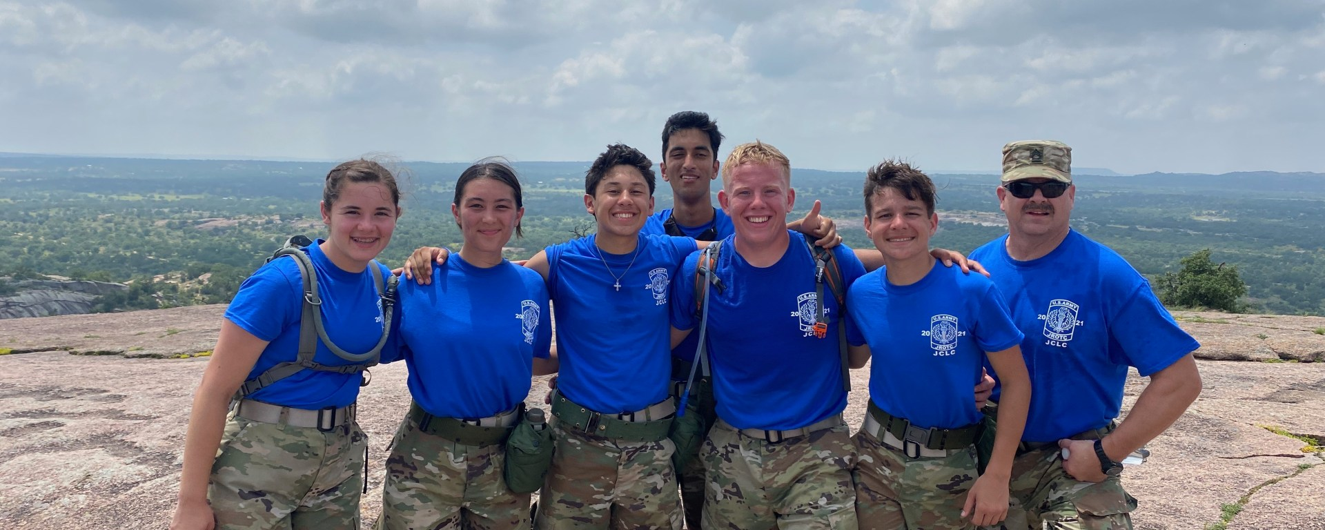 Cadets at JCLC