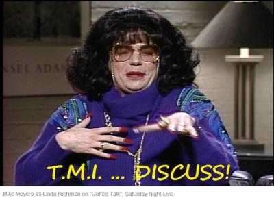 tmi discuss mike meyers