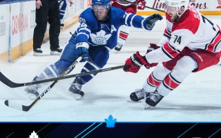 Game 10: Toronto Maple Leafs VS Carolina Hurricanes
