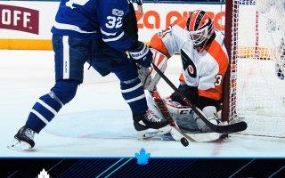 Game 11: Toronto Maple Leafs VS Philadelphia Flyers