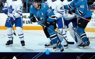 Game 12: Toronto Maple Leafs VS San Jose Sharks