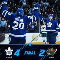 Game 17: Toronto Maple Leafs VS Minnesota Wild