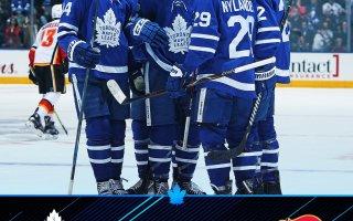 Game 29: Toronto Maple Leafs VS Calgary Flames