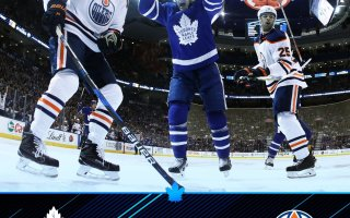 Game 31: Toronto Maple Leafs VS Edmonton Oilers