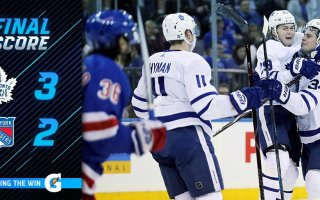 Game 37: Toronto Maple Leafs VS New York Ranagers