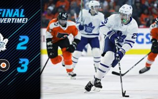 Game 47: Toronto Maple Leafs VS Philadelphia Flyers