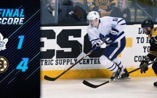 Game 54: Toronto Maple Leafs VS Boston Bruins