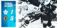ECQF Game 1: Toronto Maple Leafs VS Boston Bruins
