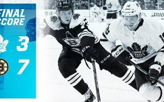 ECQF Game 2: Toronto Maple Leafs VS Boston Bruins