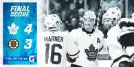 ECQF Game 5: Toronto Maple Leafs VS Boston Bruins