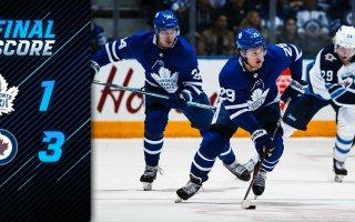 Game 79: Toronto Maple Leafs VS Winnipeg Jets