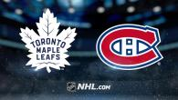 Pre-Season Game 5: Montreal Canadiens @ Toronto Maple Leafs (FINAL L 5-1)