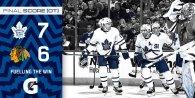 Game 3: Toronto Maple Leafs @ Chicago BlackHawks (W 7-6)