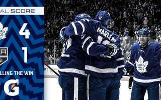 Game 7: Los Angeles Kings @ Toronto Maple Leafs (W 4-1)