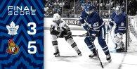 Game 2: Ottawa Senators @ Toronto Maple Leafs (L 5-3)