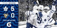 Game 14: Toronto Maple Leafs VS Pittsburgh Penguins (W 5-0)