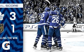 Game 15: Vegas Golden Nights @ Toronto Maple Leafs (W 3-1)