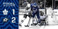 Game 13: Dallas Stars VS Toronto Maple Leafs (L 2-1)