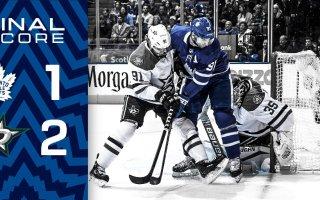 Game 13: Dallas Stars VS Toronto Maple Leafs (L 2-1)
